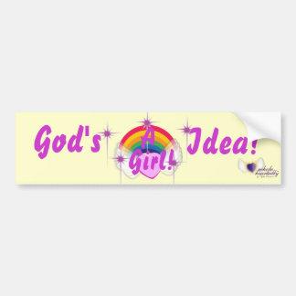 God's Girl-Customize Car Bumper Sticker