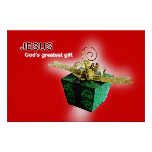God's greatest gift poster