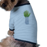 Gods green hand of life pet clothing