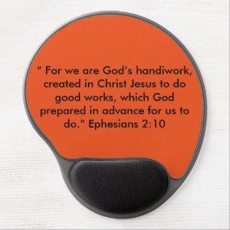 """God's Handiwork"" Motivational Mouse Pad Gel Mouse Pad"