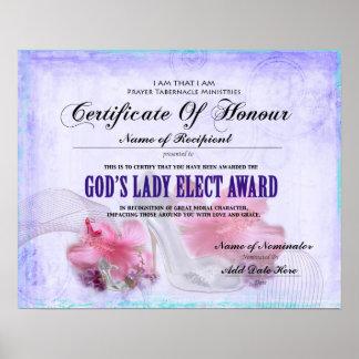 God's Lady Elect Poster