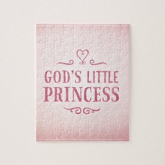 God's Little Princess Jigsaw Puzzle