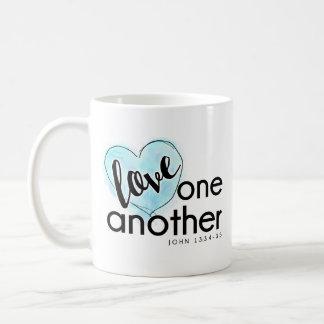 God's Love Coffee Mug Blue