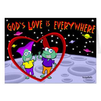 God's Love is Everywhere Greeting Card