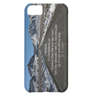 God's Majesty and belief Cover For iPhone 5C