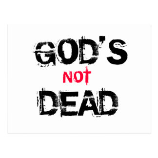 God's not Dead Postcard