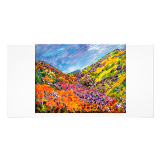 Gods Paintbox Picture Card