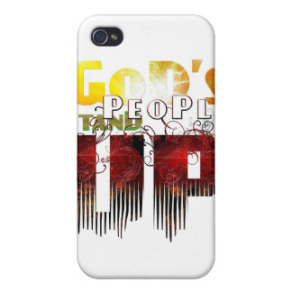 God's People Stand Up iPhone Case iPhone 4/4S Cases