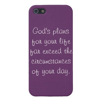 God's Plans for Your Life... iPhone 5 Cases
