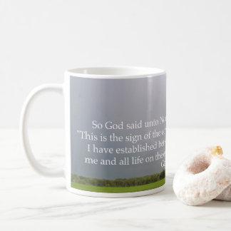 God's Promise in the Rainbow Coffee Mug