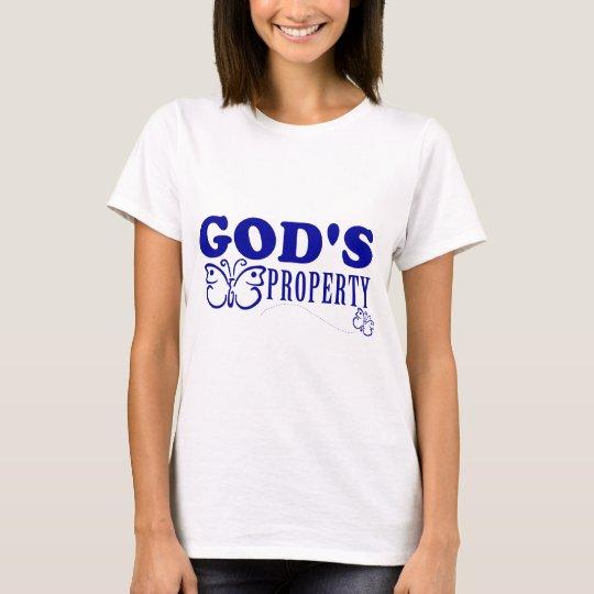 God's Property Butterflies T-Shirt