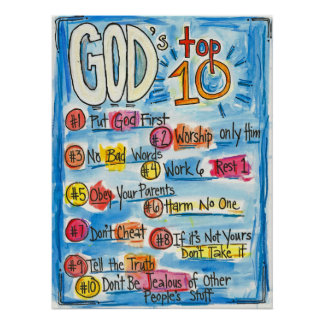 God's Top Ten Poster