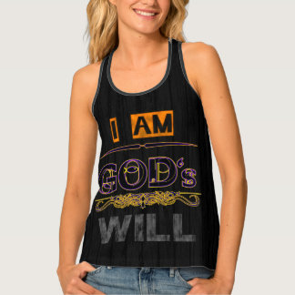 God's Will Tank Top