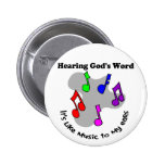 God's word is like music badges