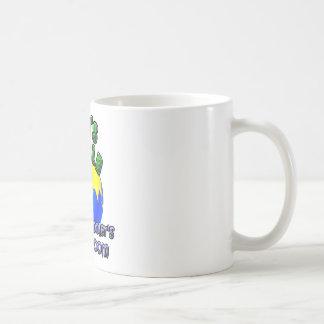 God's World- Homeschooer's Classroom Basic White Mug