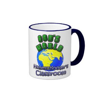 God's World- Homeschooer's Classroom Mugs
