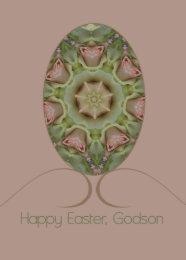 Godson easter gifts on zazzle uk godson happy easter card negle Images