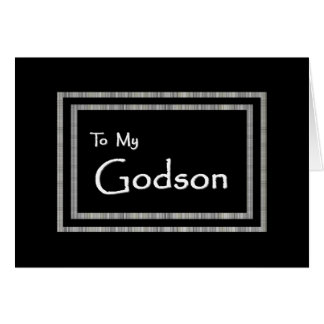 GODSON Page Boy Wedding Invitation