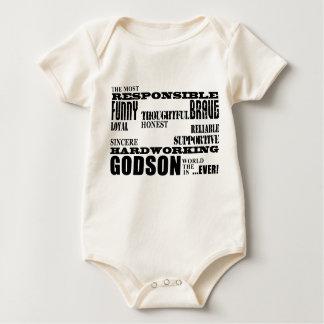 Godsons Baptism Christening Birthdays : Qualities Baby Bodysuit