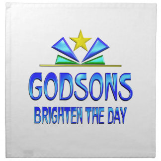 Godsons Brighten the Day Printed Napkin