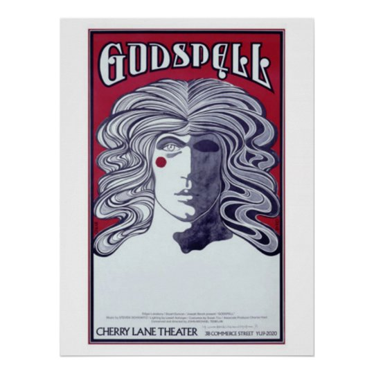 Godspell Cherry Lane Theatre Poster