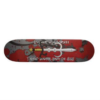 godsword skate 21.3 cm mini skateboard deck