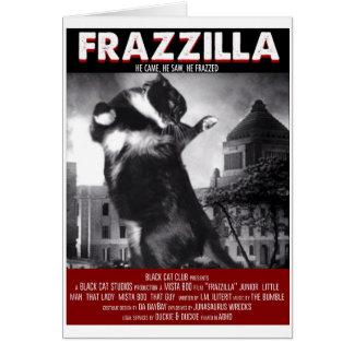 Godzilla Cat Greeting Card