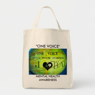 Goes with you everywhere grocery tote bag
