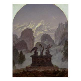Goethe Monument Postcard