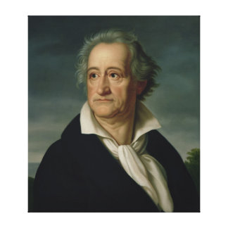 Goethe Stretched Canvas Print