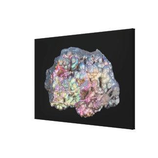 Goethite Showing Iridescence Gallery Wrapped Canvas