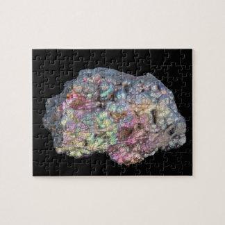 Goethite Showing Iridescence Jigsaw Puzzle