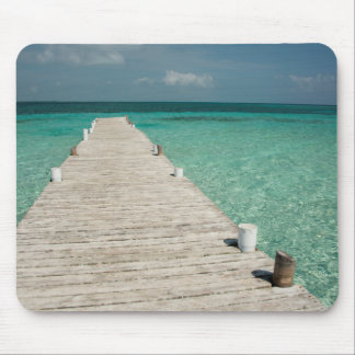 Goff Caye, a popular Barrier Reef Island Mouse Pad