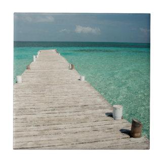 Goff Caye, a popular Barrier Reef Island Tile