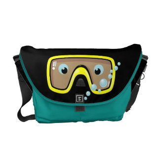 Goggles Courier Bag