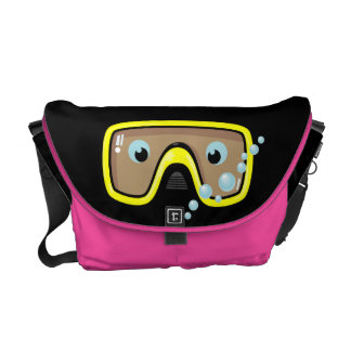Goggles Messenger Bag