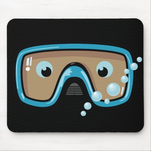 Goggles Mouse Pad