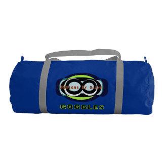 Goggles Regatta Blue with Silver straps Gym Duffel Bag