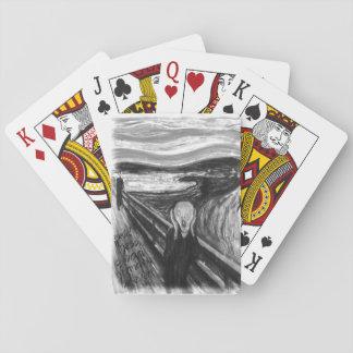 Gogh Mental Remake: The Scream by Edvard Munch Card Deck
