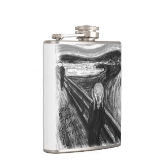 Gogh Mental Remake: The Scream by Edvard Munch Flasks
