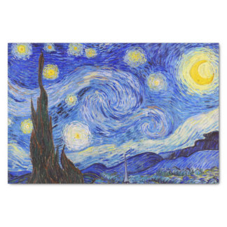 "Gogh, ""Starry Night"" Tissue Paper"