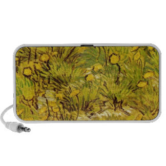 Gogh Yellow Blossoms Whimsical Wedding Personalize Speaker System