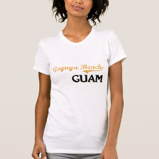 Gognga Beach Guam Classic Tee Shirts