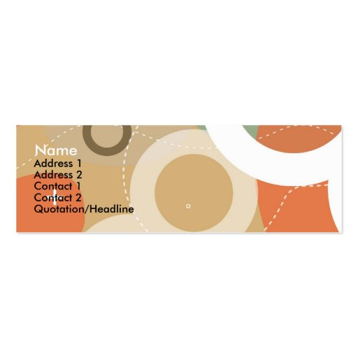 Gogo Profile Card Double-Sided Mini Business Cards (Pack Of 20)