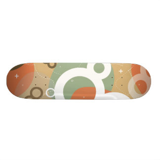 Gogo - Retro Urban Abstract Skateboard