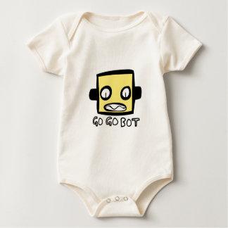 GoGoBot Robot Logo Baby Bodysuit