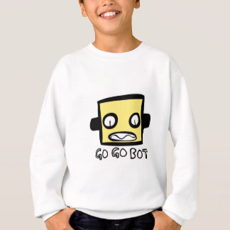 GoGoBot Robot Logo Sweatshirt