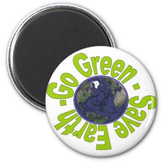 GoGreen Series 6 Cm Round Magnet