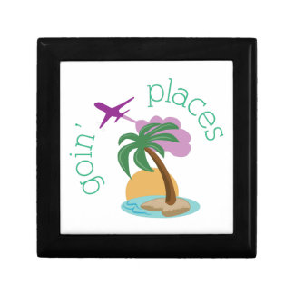 Goin' Places Small Square Gift Box