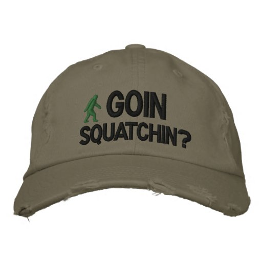 GoIn Squatchin? Embroidered Baseball Caps